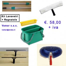 KIT LAVAVETRO PROFESSIONALE